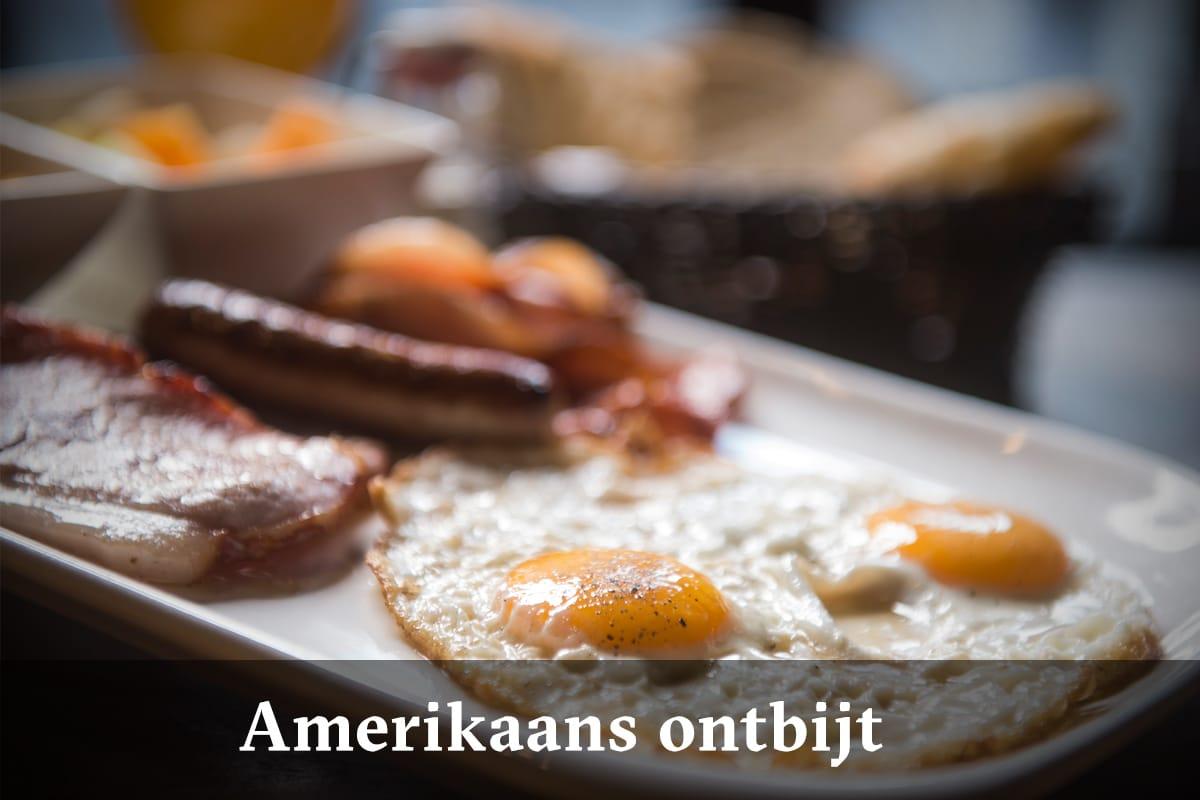 Domus Leuven menu - Amerikaans ontbijt