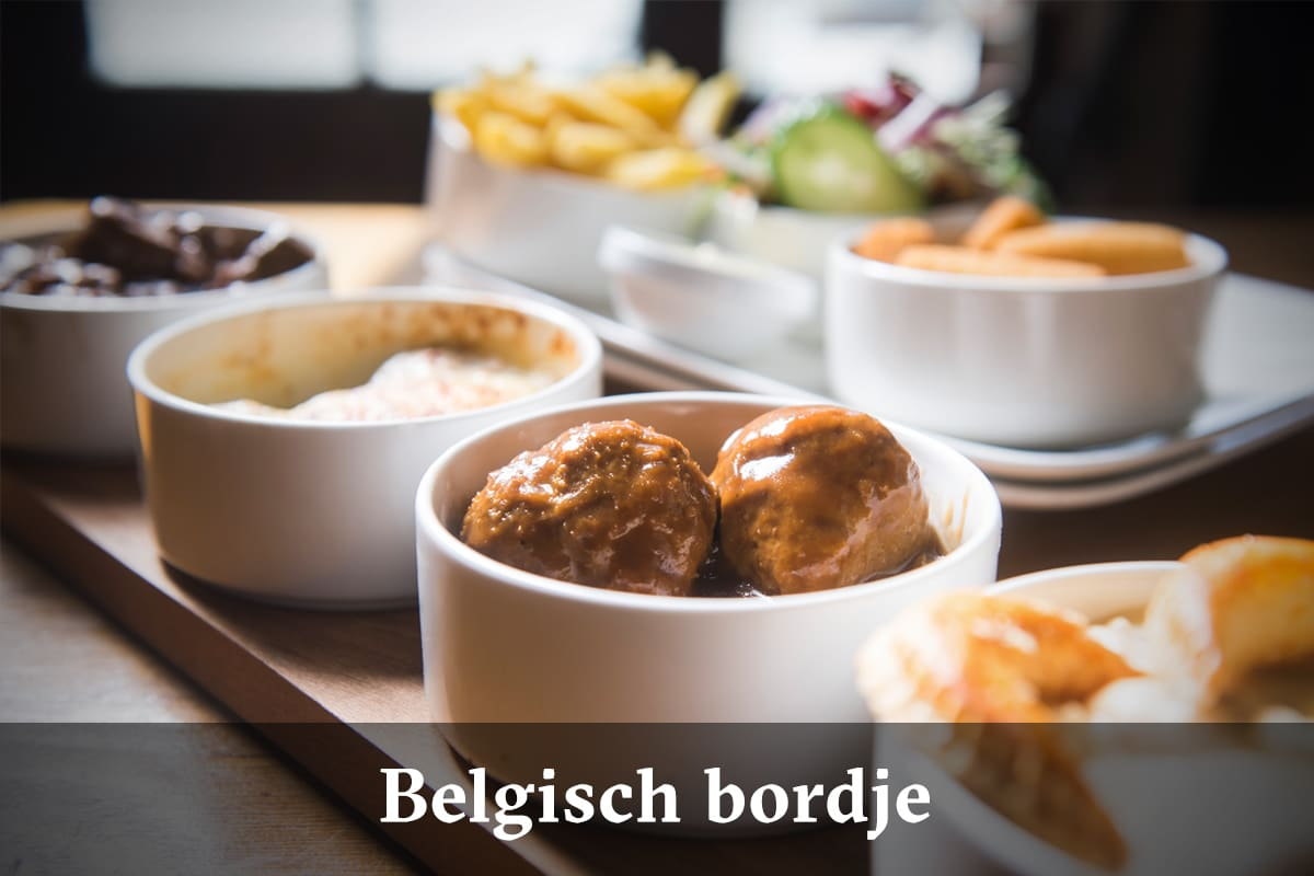 Domus Leuven menu - Belgisch bordje