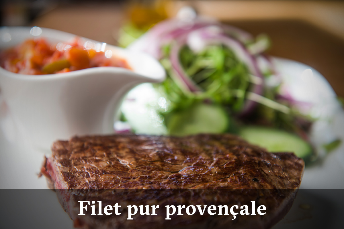 Domus Leuven menu - filetpur provencale