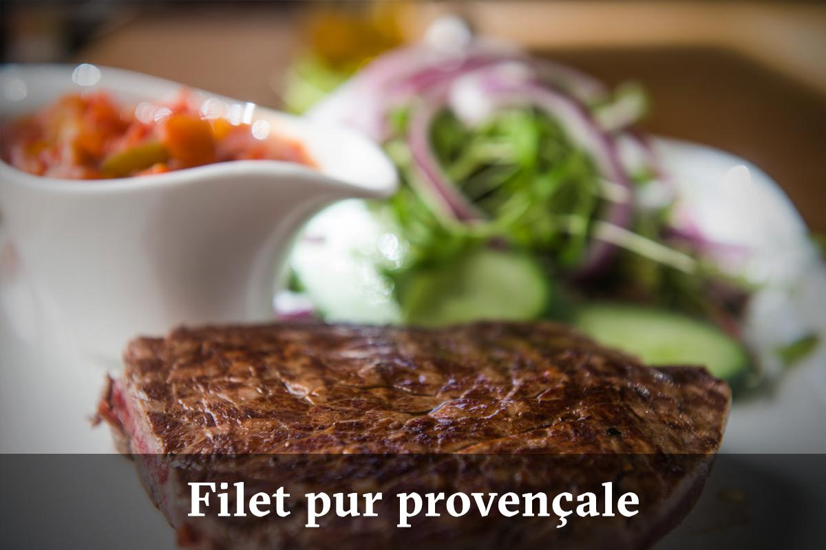 Domus Leuven menu - filetpur provencale